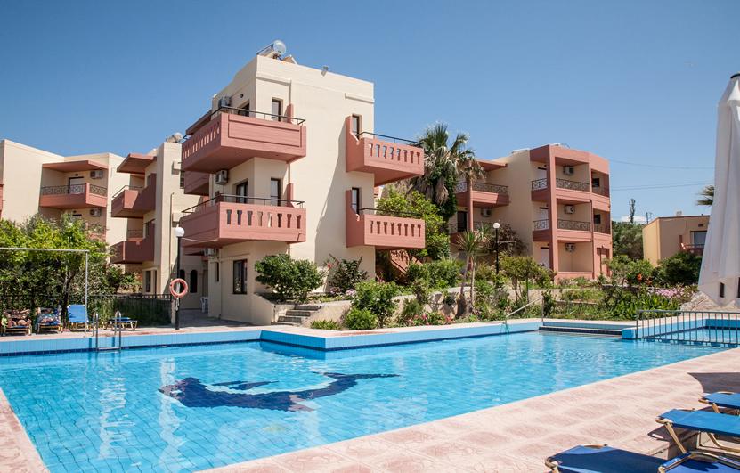 General View of Ekavi Apartments